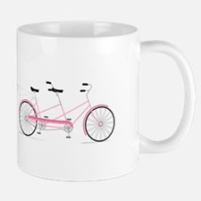 Newlywed Bike Mugs