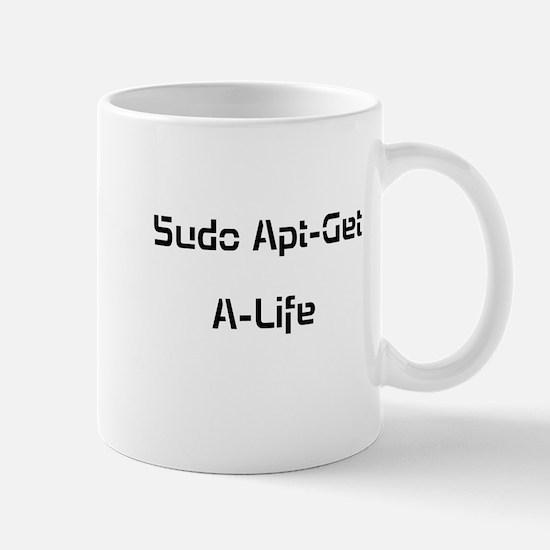 Apt-Get A-Life Mugs