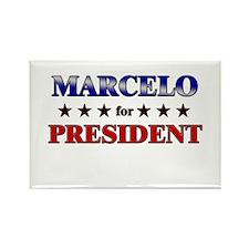 MARCELO for president Rectangle Magnet