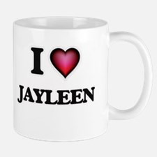 I Love Jayleen Mugs