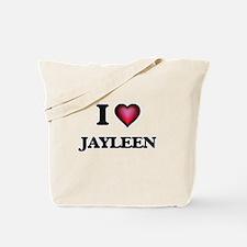 I Love Jayleen Tote Bag