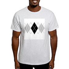 Argyle Grey Triple T-Shirt