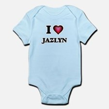 I Love Jazlyn Body Suit