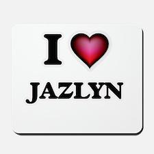 I Love Jazlyn Mousepad