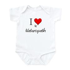 I Love My Naturopath Infant Bodysuit
