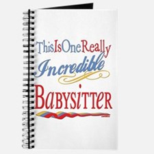 Incredible Babysitter Journal