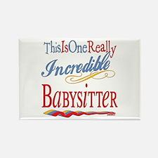 Incredible Babysitter Rectangle Magnet