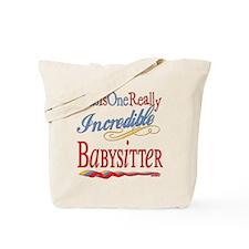 Incredible Babysitter Tote Bag