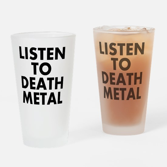 Unique Death metal Drinking Glass