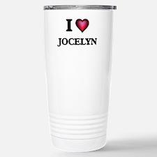 I Love Jocelyn Stainless Steel Travel Mug