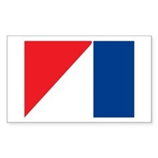 AMC Flag Logo Rectangle Decal