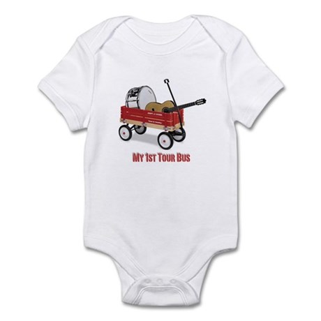kids tour bus Infant Bodysuit
