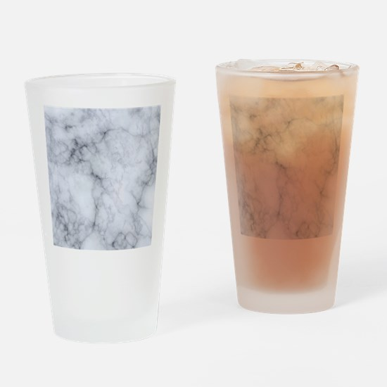 Funny Marble Drinking Glass