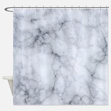 Cute Gray stone Shower Curtain
