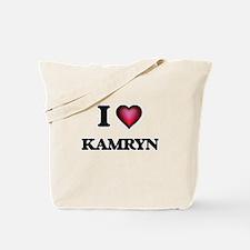 I Love Kamryn Tote Bag