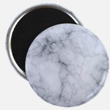 Gray Marble Texture Print Magnets