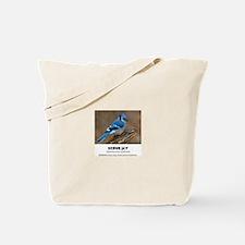 EXOTIC BIRDS - SCRUB JAY - Aphelocoma cal Tote Bag