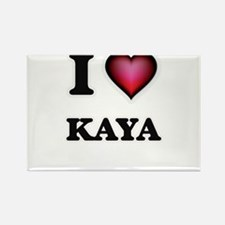 I Love Kaya Magnets