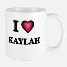 I Love Kaylah Mugs