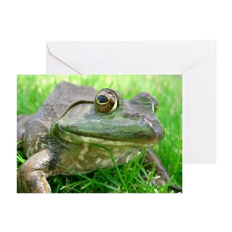 Bull Frog Greeting Cards (Pk of 10)