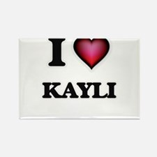 I Love Kayli Magnets