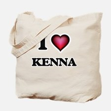 I Love Kenna Tote Bag