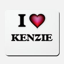 I Love Kenzie Mousepad