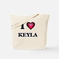 I Love Keyla Tote Bag