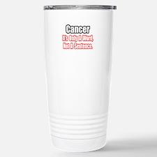 Cool Breast cancer 5 year survivor Travel Mug