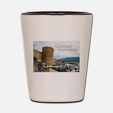 Calvi France Corsica Island Shot Glass