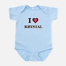 I Love Krystal Body Suit
