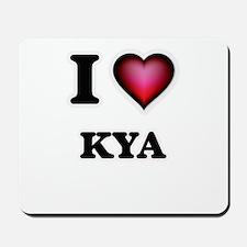 I Love Kya Mousepad