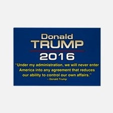 TRUMP OUR OWN AFFAIRS Rectangle Magnet