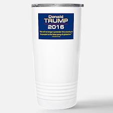 TRUMP GLOBALISM Travel Mug