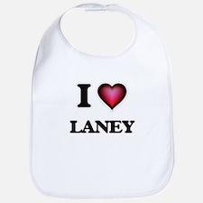 I Love Laney Bib