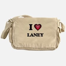 I Love Laney Messenger Bag
