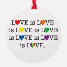 Love Is Ornament