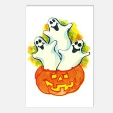 Halloween 40 Postcards (Package of 8)