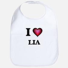 I Love Lia Bib