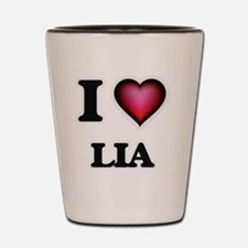 I Love Lia Shot Glass