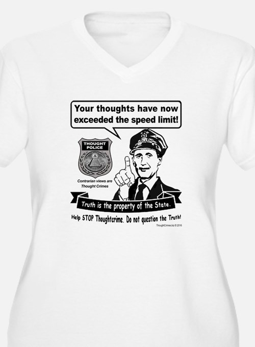 Thought Crime Plus Size T-Shirt