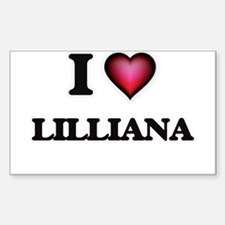 I Love Lilliana Decal