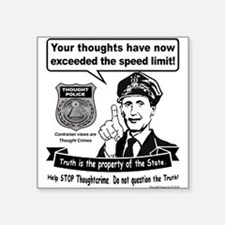 Thought Crime Sticker
