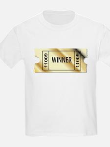 Golden Winner Ticket T-Shirt