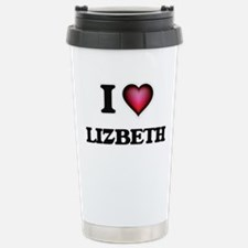 I Love Lizbeth Travel Mug