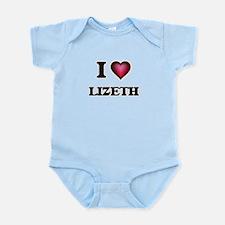 I Love Lizeth Body Suit
