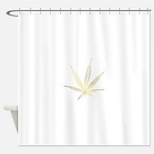 cannabis Shower Curtain