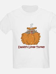 Daddy's Little Turkey T-Shirt
