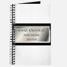 One Ounce Silver Ingot Journal