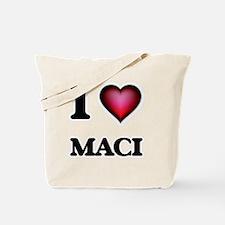 I Love Maci Tote Bag